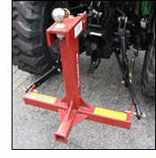 Gooseneck Trailer Hitch 3 Point attachment
